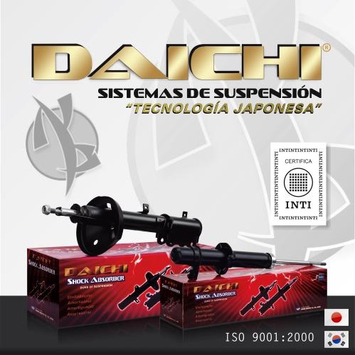 kit amortiguadores delanteros ssangyong musso 95/06