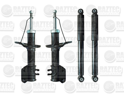 kit amortiguadores matiz 06-15 gas delanteros y traseros 4