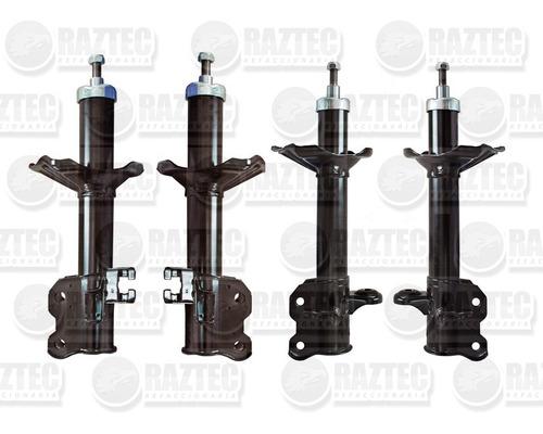 kit amortiguadores tsuru iii 92-17 4 piezas hidraulicos tyc