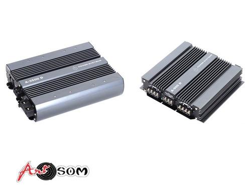 kit amplificador power systems a3500 + a900