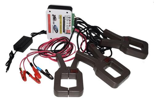kit analisador elétrico trifásico tipo alicate 1500a dmi t5t