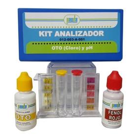 Kit Analizador De Albercas De Ph Y Cloro