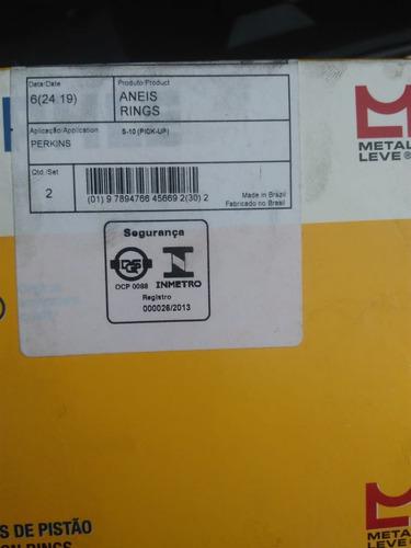 kit anéis de pistão hs 2.5 std - jogo metal leve slc7241