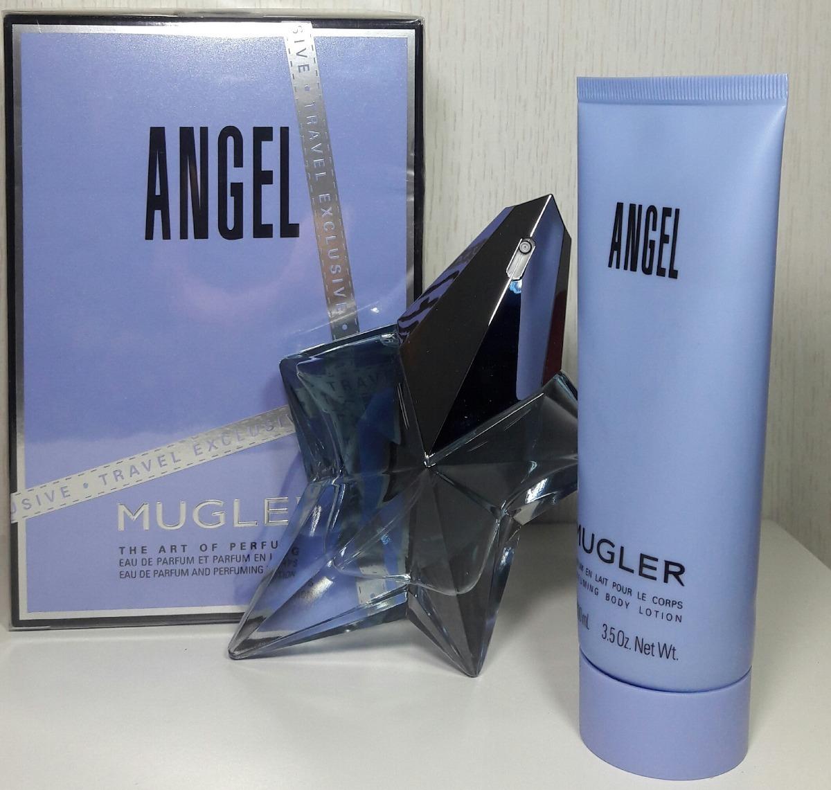 kit angel eau de parfum edp thierry mugler 50ml lacrado. Carregando zoom. 31eb782a3b