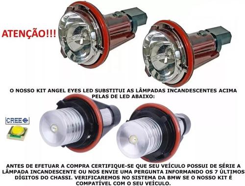 kit angel eyes h8 cree 6000k bmw e31 e39 e53 e60 e61 e83 e87