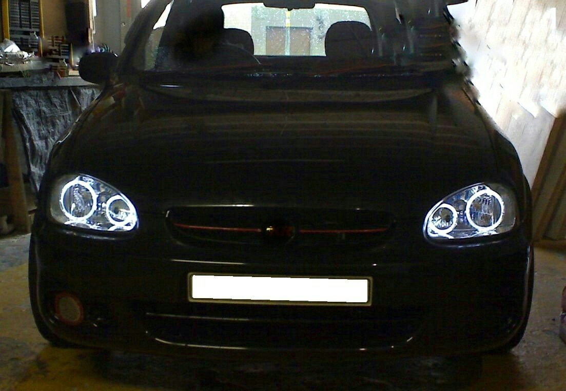 corsa angel eyes