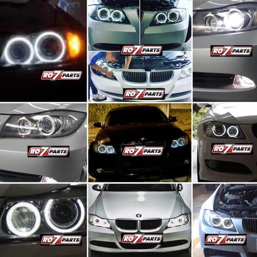 kit angel eyes super led bmw e90 e91 série 3 2006 a 2008