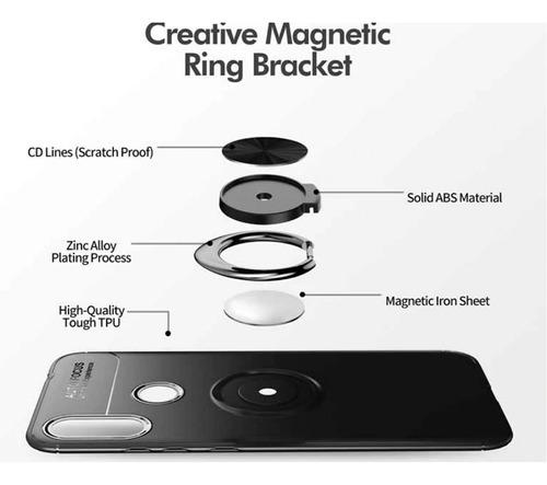 kit anillo protector ring case xiaomi redmi  note 7 + 6d