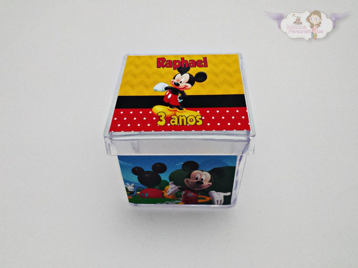e87389d1c8 Kit Aniversário Mickey - 120 Unidades Promoção - R  209