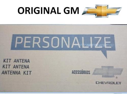 kit antena de teto onix novo prisma original gm