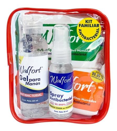 kit antibacterial desinfectante walfort antibacterial