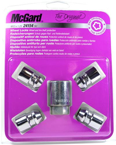kit antifurto de rodas mcgard p/ nissan frontier