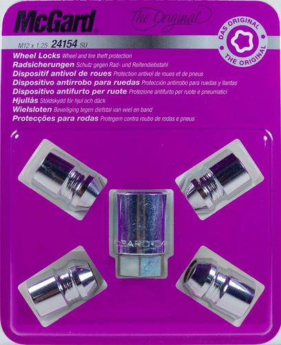kit antifurto de rodas mcgard p/ nissan murano