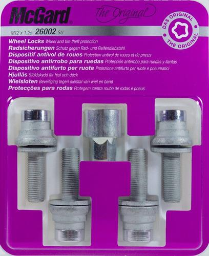 kit antifurto de rodas mcgard para peugeot 306