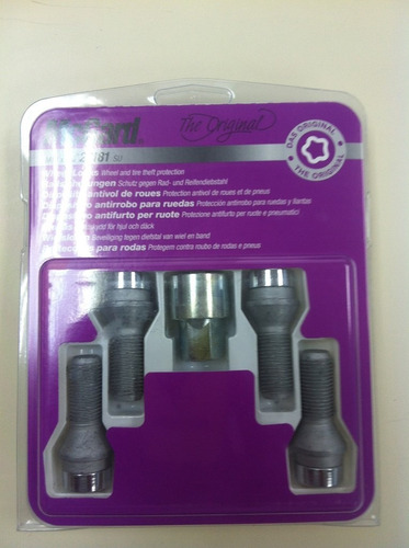 kit antifurto de rodas mcgard para vw new bettle