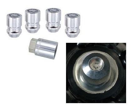 kit antifurto p/ rodas e estepe - honda crv até 2011