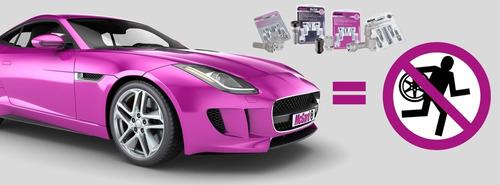 kit antifurto p/ rodas e estepe - honda fit até 2014