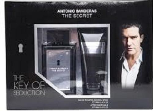 kit antonio bandera the secret perfume y after shave