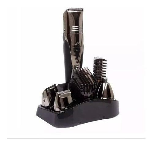 kit aparador cabelo e barba ufree multi funções 7x1 uf6168