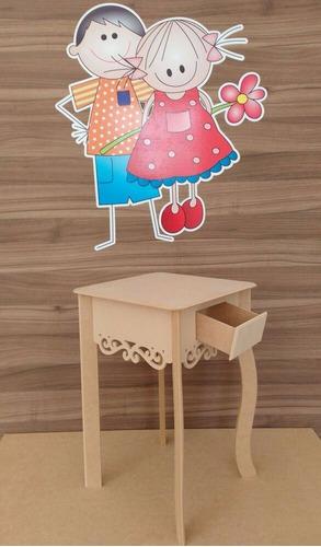 kit aparadores criado mudo decoração festa casa provenç mdf