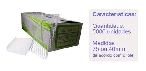 kit aplicador de etiquetas preço tag + 5000 pins promoção