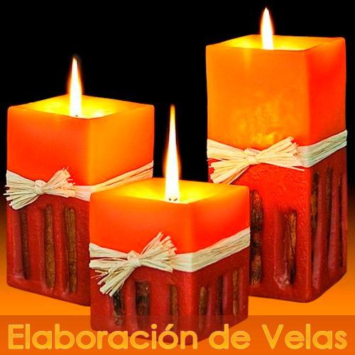 kit aprende elaboración velas artesanal sahumerios farol