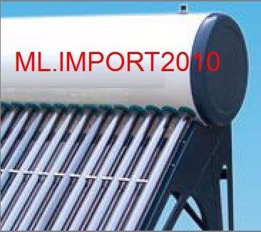 kit aquecedor solar vácuo acoplado boiler 150 litro 15 tubos
