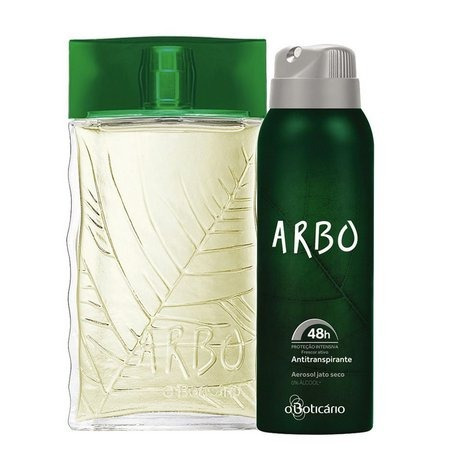 kit arbo colônia + desodorante