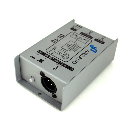 kit arcano direct box passivo 5 di-10 + 1 am-b2p