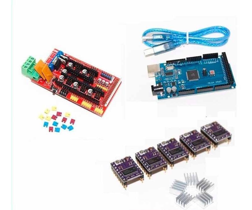 arduino ramps 1.4 3D Printer Stepper Motor Driver DRV8825 reprap