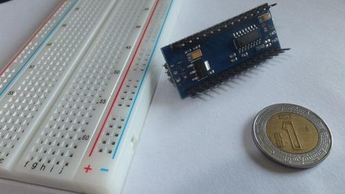 kit arduino nano v3.0 microcontrolador básico + protoboard