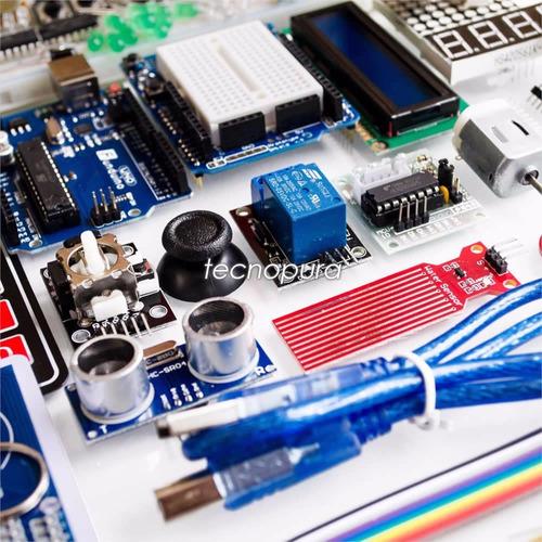 kit arduino para profesionales - sensor módulo libro starter