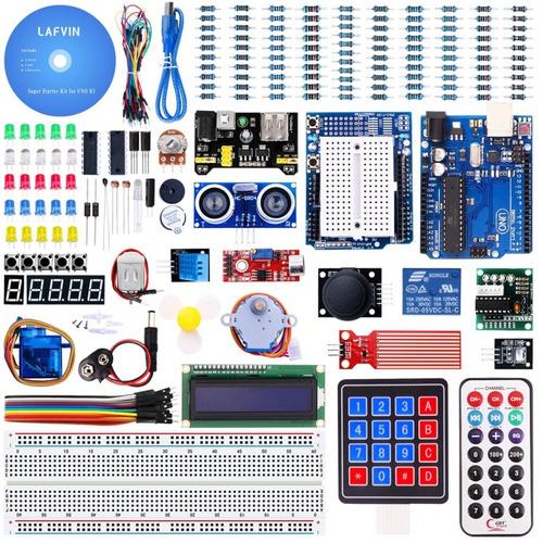 kit arduino uno completo kit arduino com manual de montagem