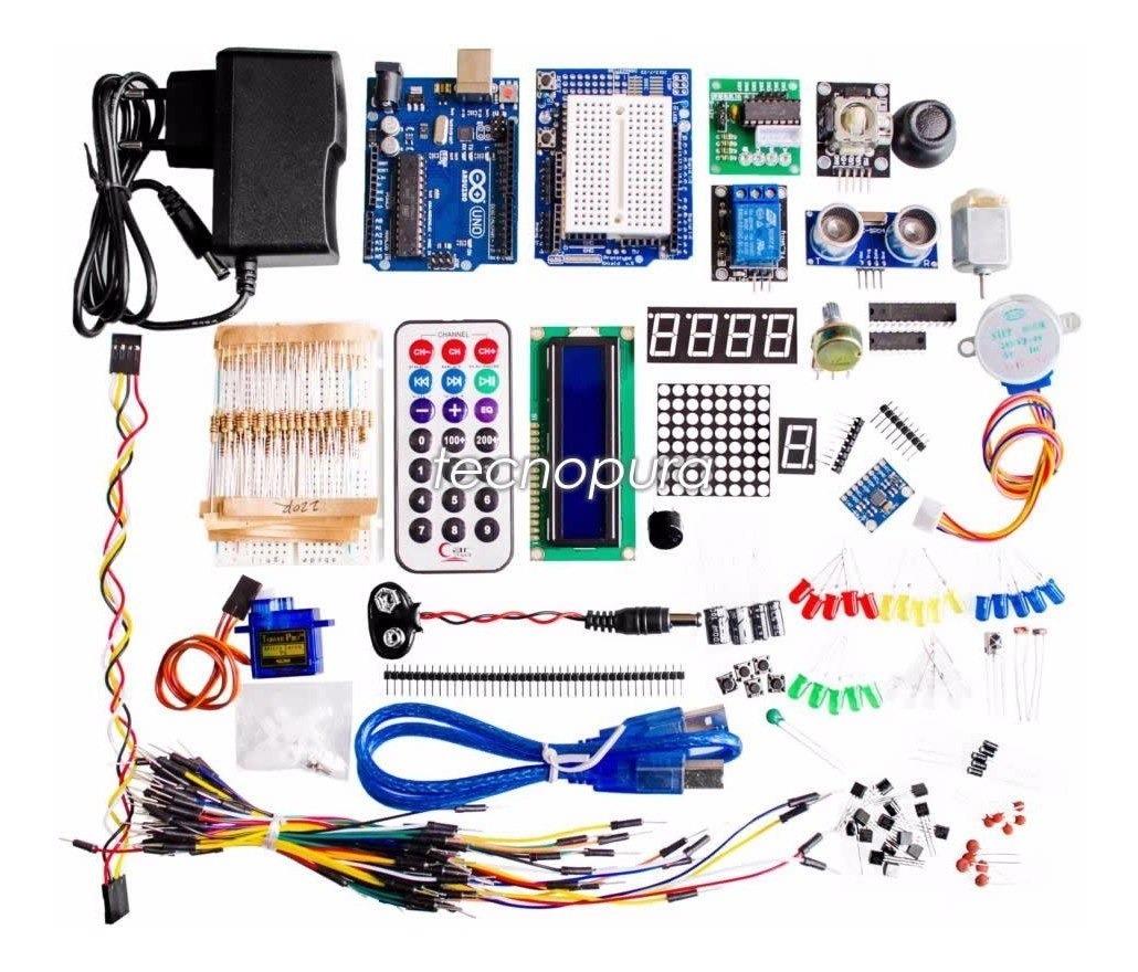 Kit Arduino Uno Para Profesionales Sensor Módulo Libro
