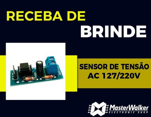 kit arduino uno r3 intermediário automação brinde sensor