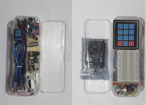 kit arduino uno smd - 74 piezas
