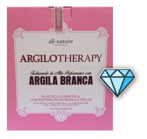 kit argilotherapy all nature argila branca amazônia a melhor