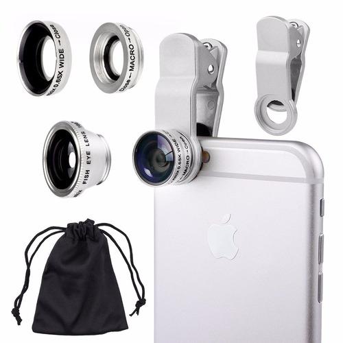 kit argom mobile lenses silver - arg-ac-0411sl