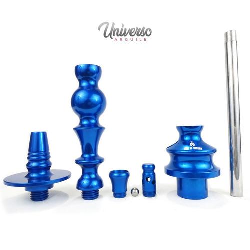 kit arguile gods of hookah mini cronos azul blue promoção