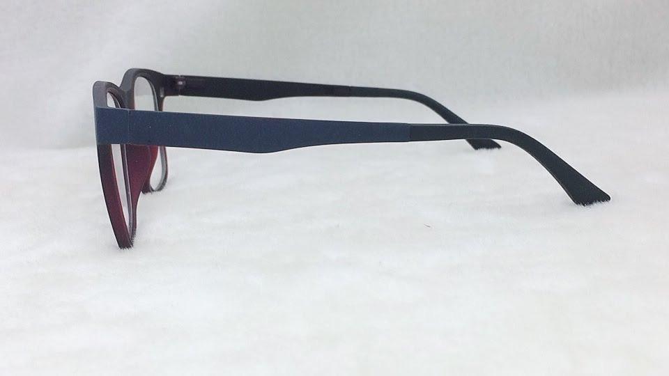 Kit Armação Óculos Grau Clip On Lente De Sol Imã S019 - R  120,00 em ... 165b2d391f