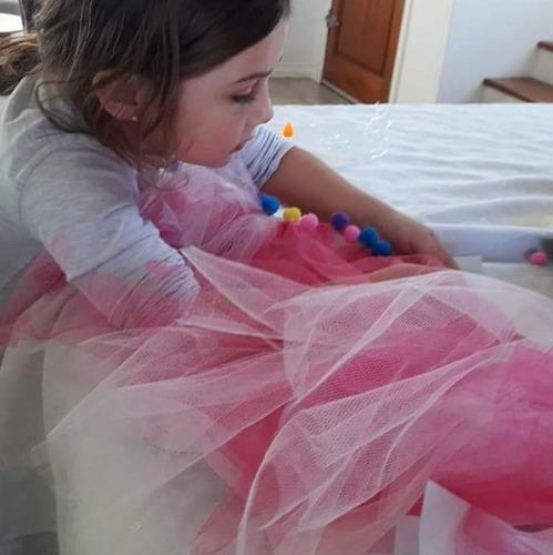 kit armar crear tutu de bailarina y decorar juego didáctico