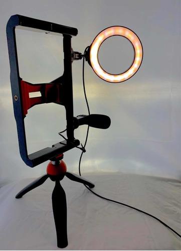 kit aro de luz micrófono y tripoíde consulte precio