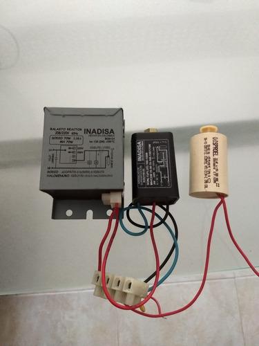 kit arrancador de 70 watt inadisa