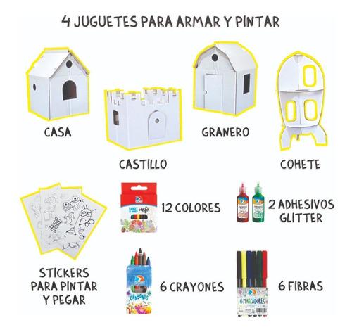 kit arte juguete