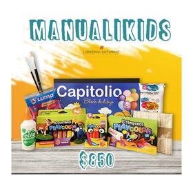 Kit Arte Manualidades Para Chicos Manualikids