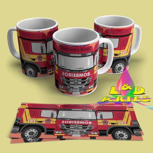 kit arte,caneca personalizada caminhão truck +combi+fusca