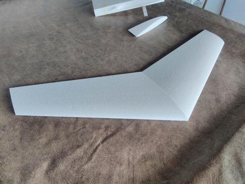kit asa zagi 75cm para montar corte em cnc