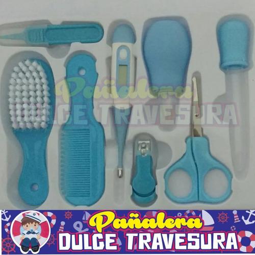 kit aseo azul