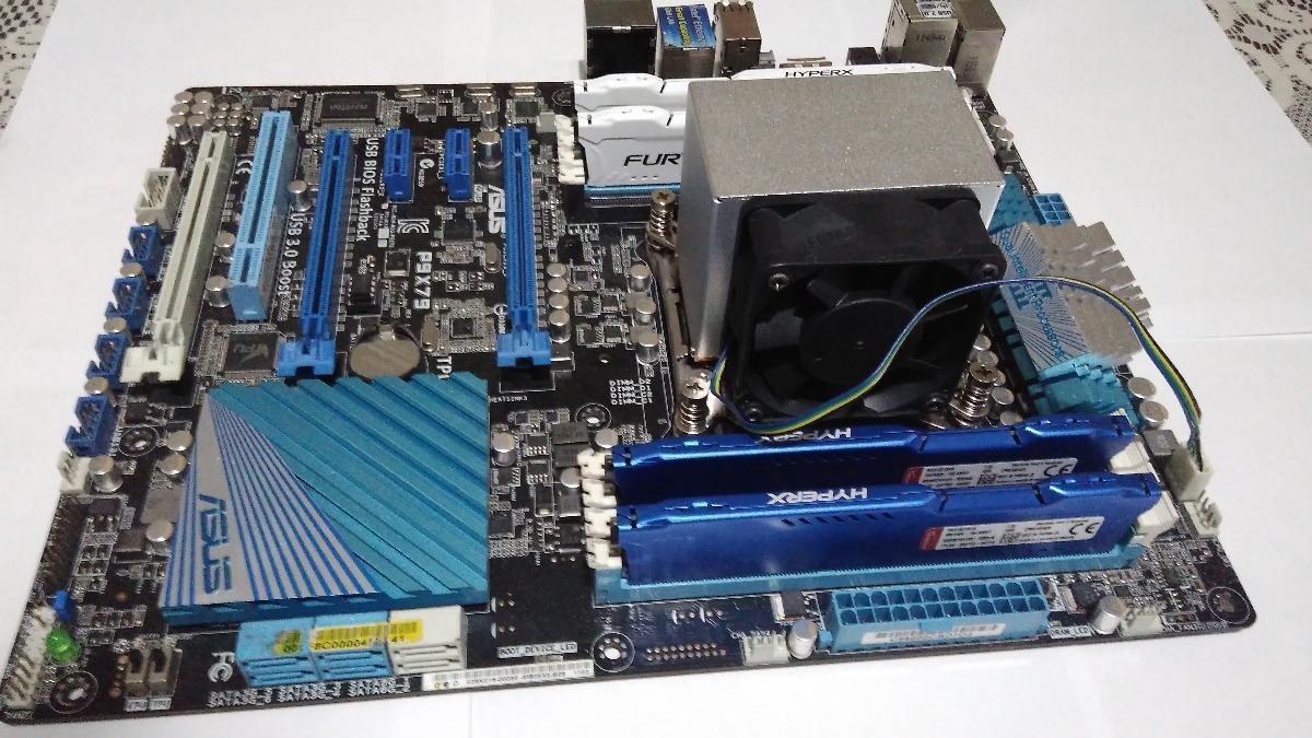 Kit Asus X79 + Xeon E5 2660 8 Core + 16gb Hyperx Ddr3 1866