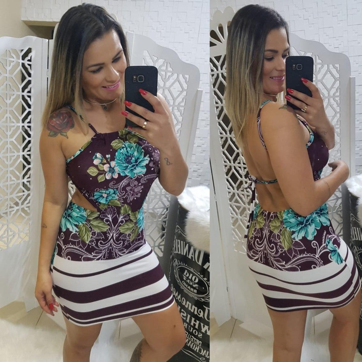 75e45d477b Kit Atacado 10pçs Vestidos Roupas Femininas Verao 2019 Modas - R ...